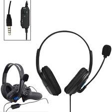 CUFFIE CON MICROFONO ANDOWL ON EAR PER PS4 X ONE PC XBOX ONE GIOCO PLAYSTATION 4