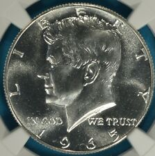 1965 SMS Kennedy Half Dollar NGC MS67- Nice Surfaces, Eye Appeal, PQ