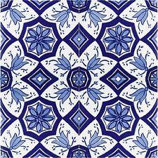 Piastrelle per bagno, cucina decorative tunisine orientali 20 x 20 cm - Aida