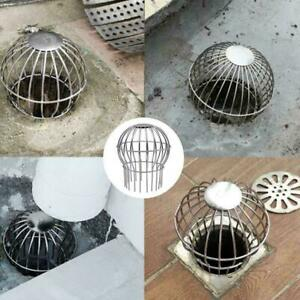 Roof Drain Dome Outdoor Anti Blocking Strainer Steel Simple NEW Filter NEW