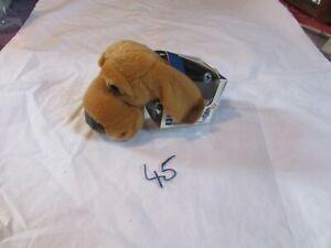 """GENUINE THE DOG ARTLIST MAGAZINE 45 COLLECTION 5"""" bloodhound  SOFT TOY"""