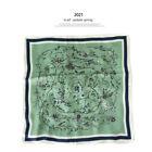 "Pure Satin Silk Scarf Bandanna Fashion Floral Print Office Necktie Hairband 21"""