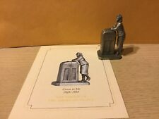 Saturday Evening Post Franklin Mint Pewter Figurine Croon To Me