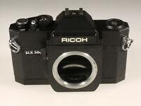 PRL) RICOH SLX 500 FOTOCAMERA ANALOGICA FOTORIPARATORE BODY SPARE PARTS REPAIR