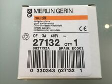 MERLIN GERIN MULTI9 27132 ON-OFF AUXILLARY SWITCH OF 3A 415V