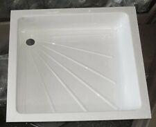 Caravan/Motorhome/Boat Shower Tray - WHITE  585 x 585mm         310140
