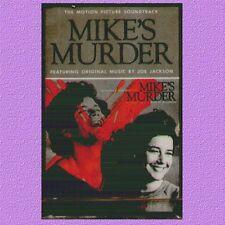 """O.S.T. """" MIKE'S MURDER (JOE JACKSON)""""  MUSICASSETTA SIGILLATA K7 RARA"""