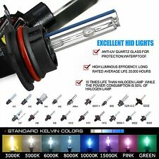 2 Xenon Light HID Kit 's Replacement Bulbs H1 H3 H4 H7 H10 H11 H13 5202 9006 880