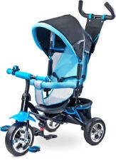 Vélo 3 roues Tricycle Enfant Bébé Porteur Trike 2 en 1 bleu  neuf mondial relay