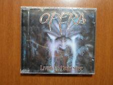 Opera - Living a Nightmare MEGARARE Brazilian Melodic Power Metal Private Press