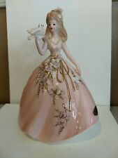 Josef Originals Teen Doll With Dove From The Fantasia Series Euc