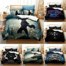 Black Panther Quilt Cover Bedding Set 3PCS 3D Print Duvet Cover Pillowcase