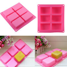Silicone Home Homemade Candle Soap Mold DIY Craft Cake Self-making Mould JS