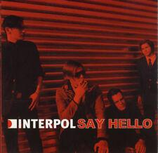 INTERPOL SAY HELLO - RENNES 2002 LONDON 2004 VERY RARE CD