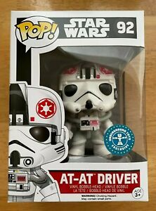 Star Wars POP! Funko AT-AT Driver  # 92 Boxed VGC  Underground Toys Exclusive