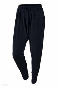NIKE 620400 Women's Dri-FIT Avant Move Harem Pant Yoga Jogger L Black $80 NWT
