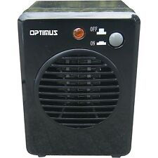 NEW OPTIMUS ELECTRIC 300 WATT PORTABLE SMALL MINI PERSONAL CERAMIC SPACE HEATER