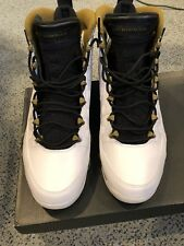 68a9c9adc72fb4 Authentic Air Jordan 9 Statue Olive Green White Size 12