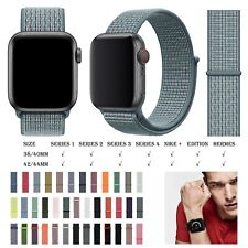 Replacement Nylon Watch Strap For Apple Watch Series 6/5/4/3 42/44mm Watch Band