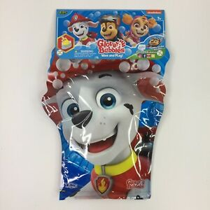 Paw Patrol Glove A Bubbles With Bubble Solution Wave n Play BRAND NEW SEALED