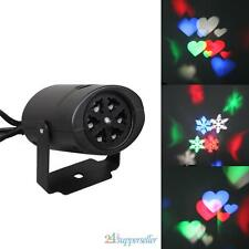 Outdoor Moving LED Snowflake Landscape Laser Projector Indoor Lamp Party Light