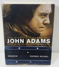 JOHN ADAMS-HBO Series-Enhanced Blu-Ray 3 disc box set--Excellent condition!