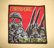 CARNIVORE - RETALIATION LOGO Embroidered PATCH Type O Negative Peter Steele