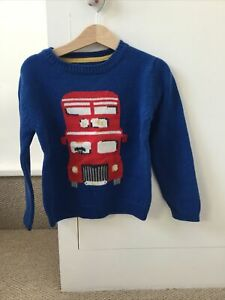 Cath Kidston Bus Knitted Jumper 5-6 Years