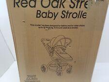 La Baby Red Oak Standard Stroller, Brown/Black