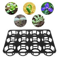 Plastic Seed Starter Tray Plants Nursery Pot Holder Seedlings Flower Panter