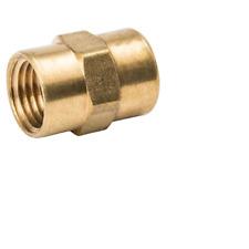 "BOX/LOT OF 36~B&K 1/4-inch Threaded Brass Coupling Fitting~1/4"" Female Thread"