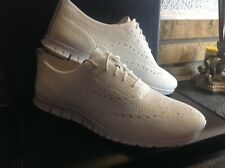 NIB Womens White Knit Cole Haan Zerogrand Oxford Sneakers 9B Shoes W06731