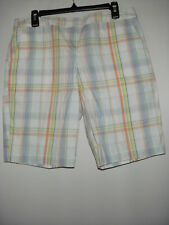 Izod new Multicolor Women's Golf Shorts 10