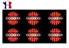 6 X 24V LED FEUX DE ARRIERES GABARIT POUR IVECO DAF MAN SCANIA VOLVO RENAULT