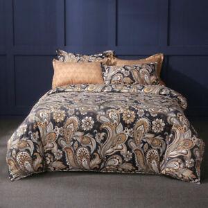 Quilt Duvet Doona Cover Set Queen/King Modern Pattern Printed Mr Cotton H21