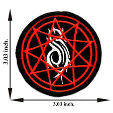 Slipknot Heavy Metal Band Music Rock Applique Iron on Patch Sew For T-shirt