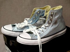 Converse Chuck Taylor All Star Metallic High-Top Sneakers Assorted Sizes BNIB