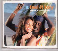 (GT894) Feel It Boy, Beenie Man ft Janet Jackson - 2002 CD
