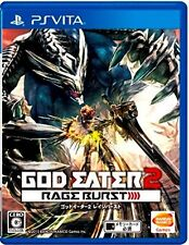 Used PlayStation PS Vita God Eater 2 Rage Burst Japan Import Free Shipping
