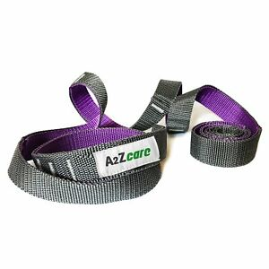 A2ZCare Yoga Stretch Strap for Physical Therapy with Multi-Loop Elastic
