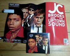JC BROOKS & THE UPTOWN SOUND Want More | sealed CD+POSTER | Chicago Soul & Funk
