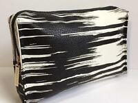 Estee Lauder White and black Cosmetic bag