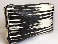 Estee Lauder White and black Cosmetic bag
