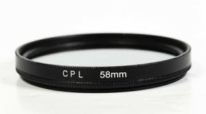 Camera Filter Circular Polarising