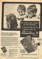 Publicité  //   Camera Beaulieu T8 President