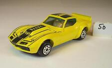 Dinky Toys ca. 1/66 Chevrolet Corvette Coupe gelb #050
