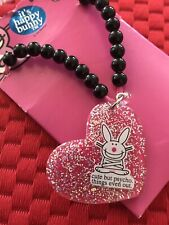 It's Happy Bunny Necklace Cute But Psycho