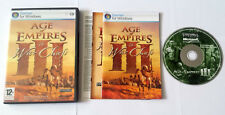 Age Of Empires III 3: The War Chiefs Expansion Pack PC CD ROM Complete *VGC*