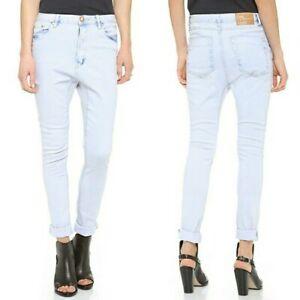 One Teaspoon Runaways Super Skinny Lover Jeans Blue Light Wash NWOT 25 $139