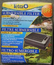 Tetra Pond Spf1 Submersible Flat Box Filter New Open Box
